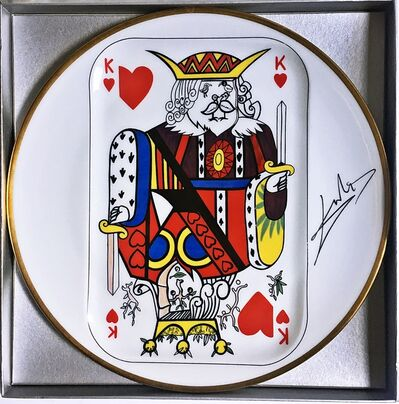 Salvador Dalí, 'King of Hearts ', 1967