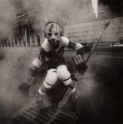 Arthur Tress, 'Hockey Player, NY', 1972