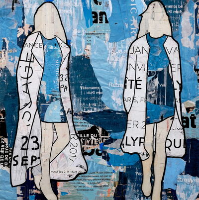 Jane Maxwell, 'Blue Billboard Girls',