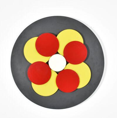 Francisco Sobrino, 'Discs rouge et jaune', 1965
