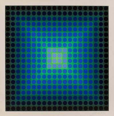 Victor Vasarely, 'Permutations', 1968