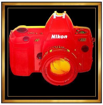 Rupert Jasen Smith, 'Rupert Smith Large Color Screenprint Hand Signed Art Nikon Camera Andy Warhol', 1988