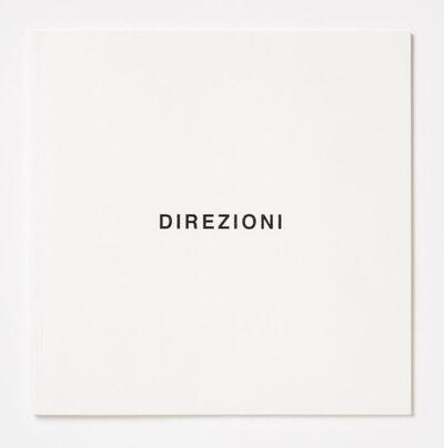 Giovanni Anselmo, 'DIREZIONI', 2016