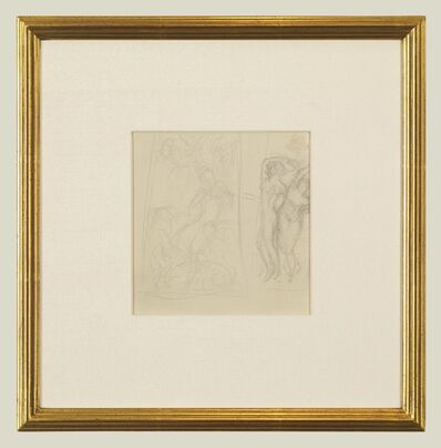John Singer Sargent, 'Figure Studies', 1870-1874
