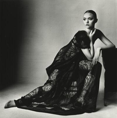 Irving Penn, 'Balenciaga Black Lace Dress (B) (By Ghesquiere),New York', 2005