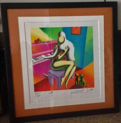 Mark Kostabi, 'The Right Notes', 2018