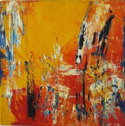 Martyn Brewster, 'Variation series: yellow & red', 1987