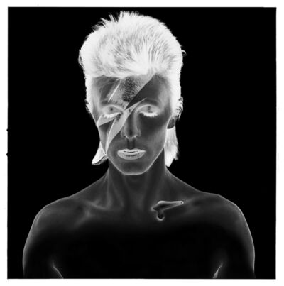 Brian Duffy, 'David Bowie: Aladdin Sane, Negative', 1973