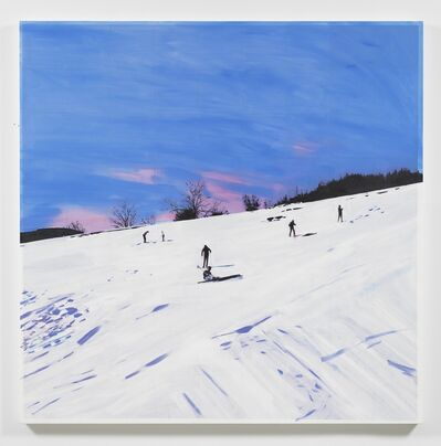 Isca Greenfield-Sanders, 'Ski Slope', 2018