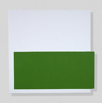 John Goodyear, 'Green, On and Off', 2018