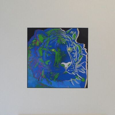 Andy Warhol, 'Sibirian Tiger', 1987