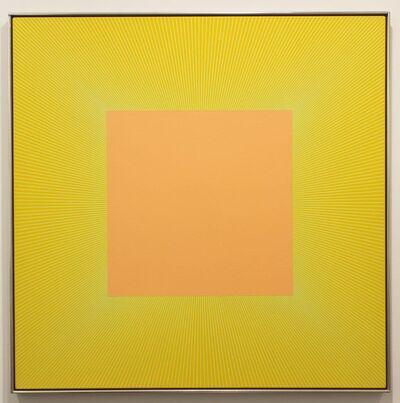 Richard Anuszkiewicz, 'Luminary Orange'