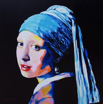 Jack Graves III, 'Girl with Pearl Earring Icon (Vermeer)', 2020