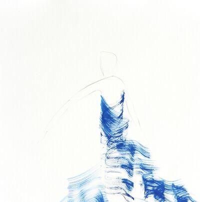 Bettina Mauel, 'The Blue Cloth 3', 2017