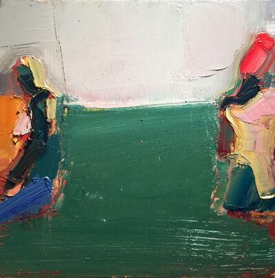 Sandy Ostrau, 'Green Grass Seating', 2018