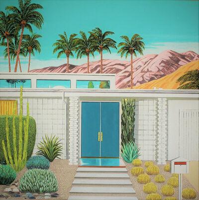 Karen Lynn, ''Cactus Garden' Oil on Canvas, Contemporary Painting', 2021