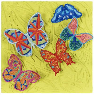 Stephen Wilson, 'Elemental Flutter (Yellow)', 2020