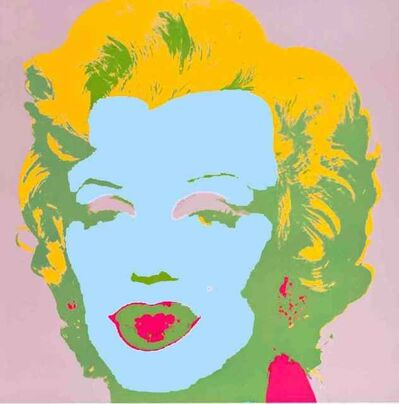Andy Warhol, 'Blue Marilyn 11.28', 1970