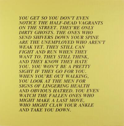 Jenny Holzer, 'Inflammatory Essay', 1979-1982