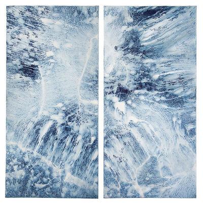 "Meghann Riepenhoff, 'Erasure #17 (Bainbridge Island, WA 03.06.19, .1"" Precipitation)', 2019"