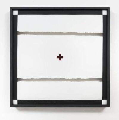 """Anna Maria Maiolino, '""""No centro"""", from the Desenhos Objetos series', 1974-1975"""