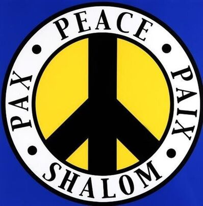 Robert Indiana, 'Tel Aviv Peace', 2004