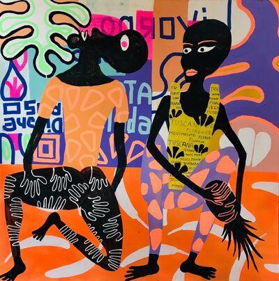 Frantisek Florian, 'African Figures 5', 2019