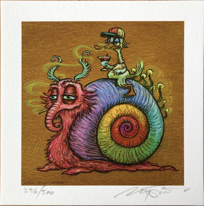 Marq Spusta, 'Rainbow Snail - Mini (VS03)', 2020