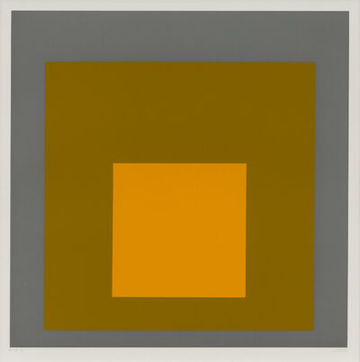 Josef Albers, 'FGa', 1968