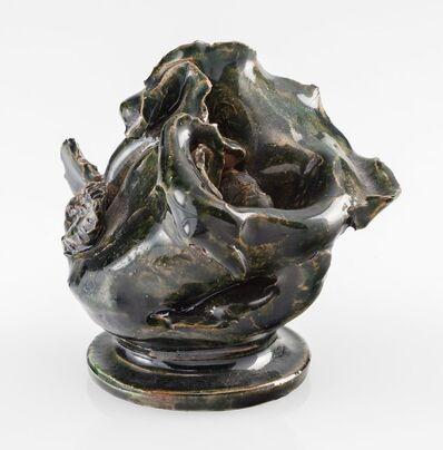 George E. Ohr, 'Rose Vase', circa 1900