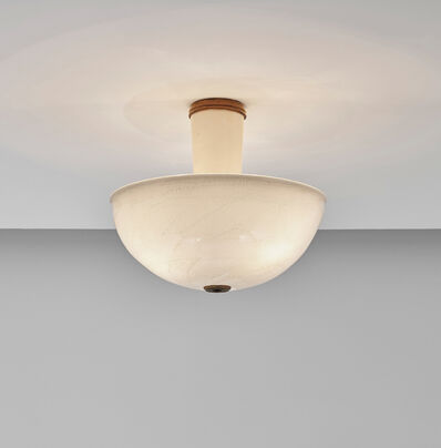 Tomaso Buzzi, 'Rare ceiling light, model no. 5266', 1931-1935