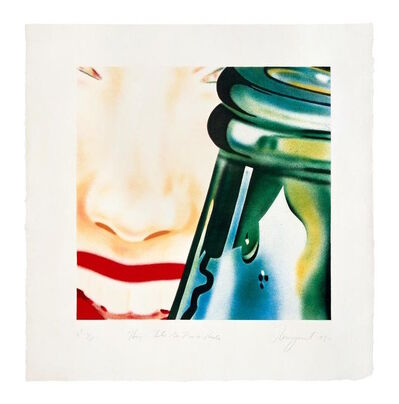 James Rosenquist, 'Hey Lets Go For A Ride', 1972