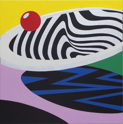 Moritz Green, 'Chrom Quadrat III', 2020