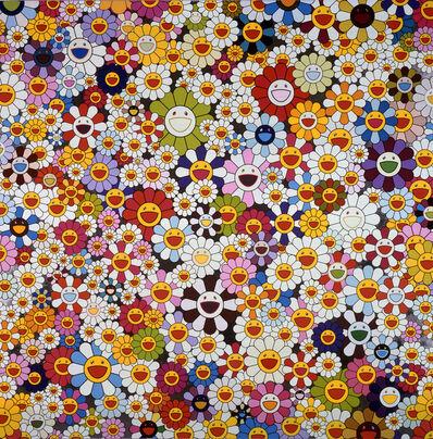 Takashi Murakami, 'Flowers, flowers, flowers', 2010