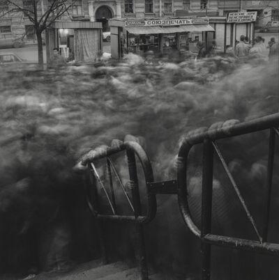Alexey Titarenko, 'Crowd, Metro, St. Petersburg', 1992