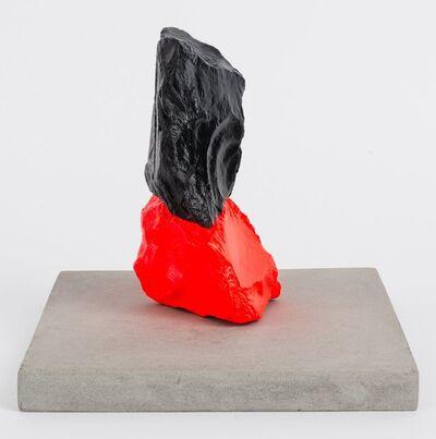 Ugo Rondinone, 'Small Red Black Mountain', 2014