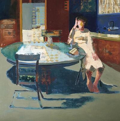 Linda Christensen, 'Woman at Table'