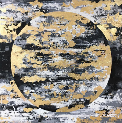 Chelsea Davine, 'Black and Gold Moon', 2021