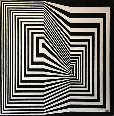 Abdulio Giudici, 'Simetría por oposición', 1969
