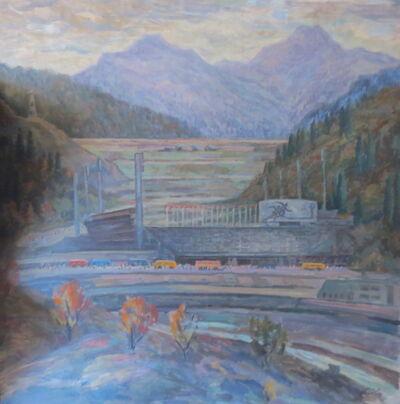 Anatoly Gorovykh, 'Warm Autumn on Medeu', 1989