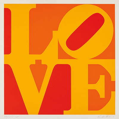 Robert Indiana, 'Golden Love', 1973