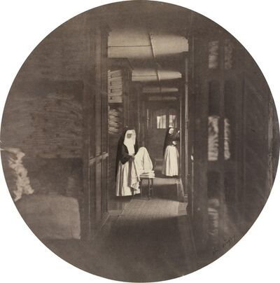Charles Nègre, 'Asile Impérial de Vincennes: la Lingerie', 1859