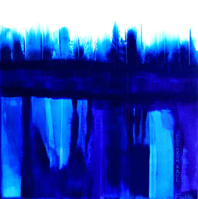 Carla Fache, 'Blue Heart', 2006