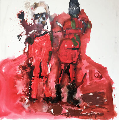 Locust Jones, 'Fuckinn Atrocity - The beheading of James Foley by I.S', 2014