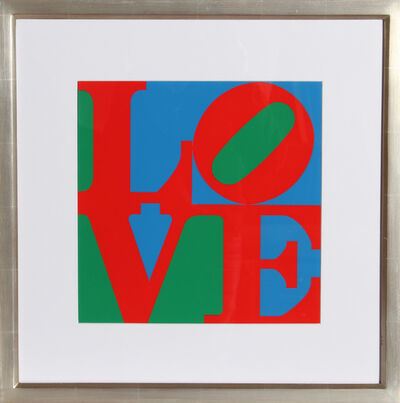Robert Indiana, 'Philadelphia Love', ca. 1966