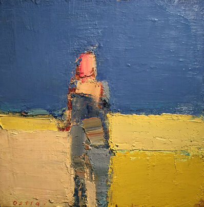 Sandy Ostrau, 'Summer in Yellow and Blue', 2018