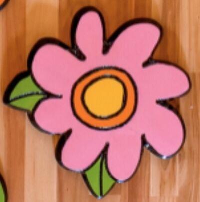 """Lacey Micallef, '""""Pink Vintage Flower""""', 2019"""