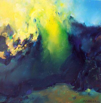 Ou Yang Jiao Jia, 'Blue Landscape', 2014