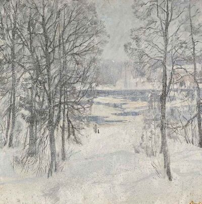 Sergei Chepik, 'Winter Snow', 1980