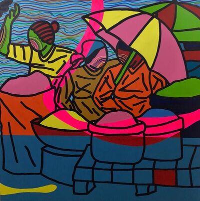 Ajarb Bernard Ategwa, 'Les mères du marché', 2018